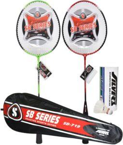 Flipakrt - Buy Silver's SB - 719 Combo 1 Badminton Kit - at Rs 379 only