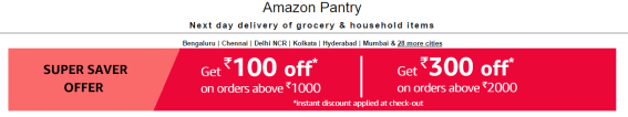 amazon pantry super saver offer