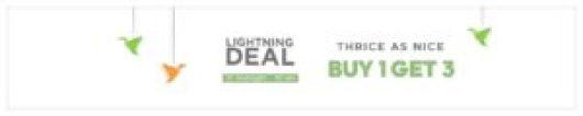 Avail 'Buy 1, Get 3' on 2500+ items (Till 10 AM)