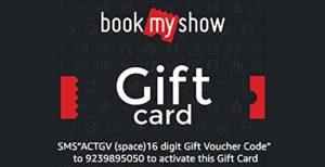 Upto 50 off BookMyShow Digital Voucher Use Promocode BMSAMZ50 at Checkout