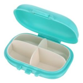 Amazon- Buy Miamour Ellipse Plastic Pill Box at Rs 72