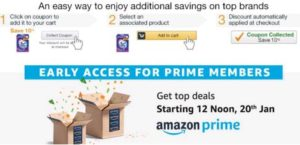 Amazon Collect coupon