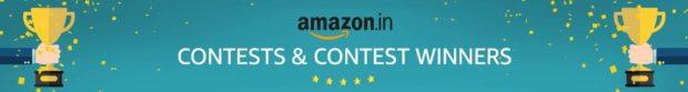 Amazon Quiz Winners All Amazon Contest Winners announced