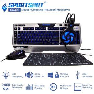 Amazon Steal- Buy SportsBot SS302 4-in-1 LED Gaming Kit