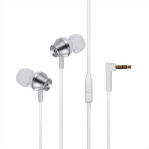 Buy Envent Beatz 307 Headset with Mic (White, In the Ear) for Rs.249 only