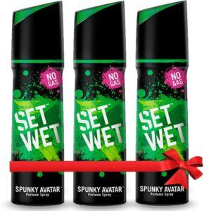 Flipkart Loot- Buy Set Wet Spunky Avatar Perfume Body Spray