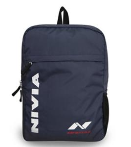 Nivia Pebble 02 Backpack (Navy Blue) at rs.312