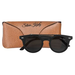 Silver Kartz Retro Black Double Gradient Round Sunglasses at Rs.104 only