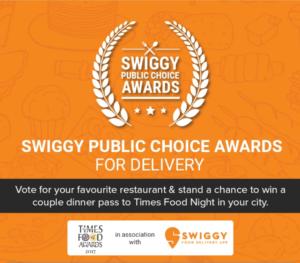 Swiggy Public Choice Award