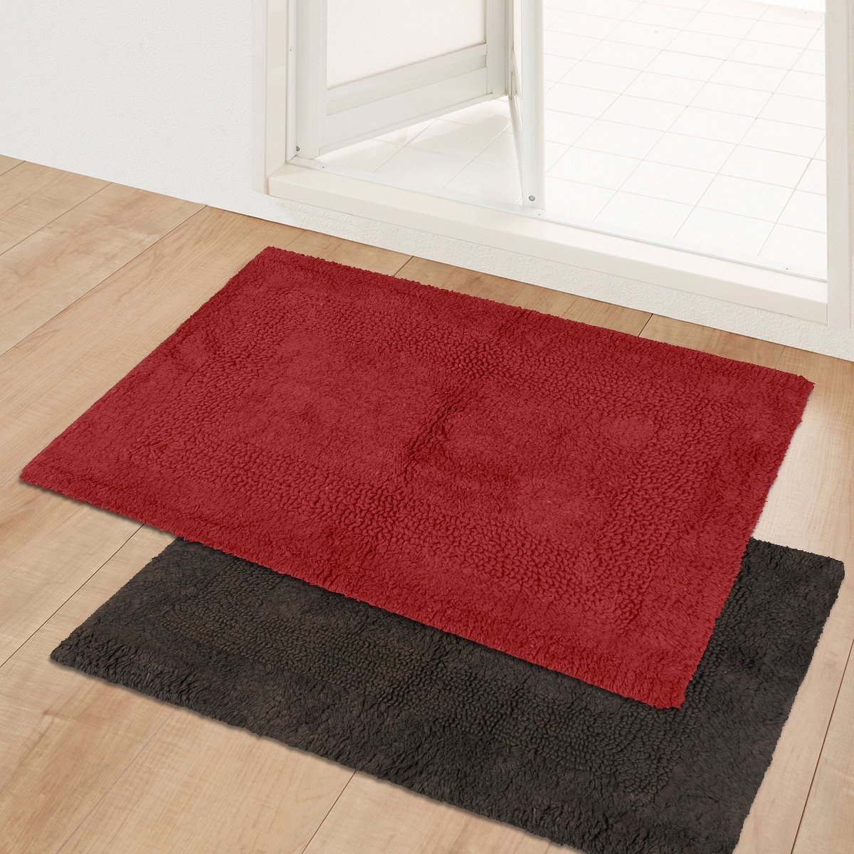 kitchen mats amazon island cart with seating buy story home door mat combo set of 2