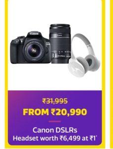 Flipkart- Buy Buy a Canon DSLR