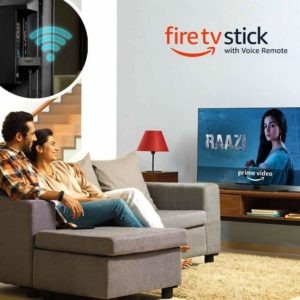 Amazon steal - Buy Amazon Fire TV Stick with Voice Remote Streaming Media Player at Rs 2799