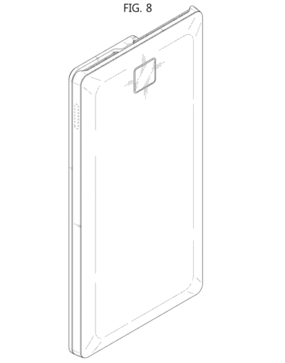 Samsung Files Patent for Sliding Smartphone with Two Displays