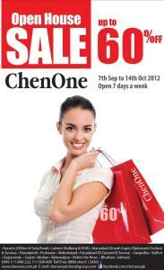 ChenOne Open House Sale Upto 60% Off