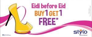 Stylo Eidi Before Eid Buy 1 GET 1 FREE Offer