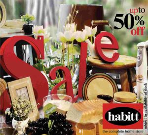 Habitt Sale July 2013