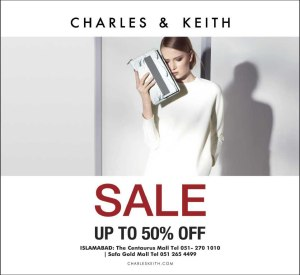 Charles and Keith Islamabad Sale 2014 June Bags & Shoes