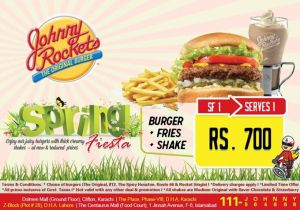 Johnny Rockets Spring Fiesta (SF1)