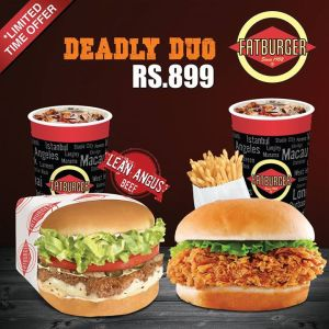 FatBurger Deadly Duo