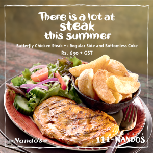 Nando's Summer Deal 2015