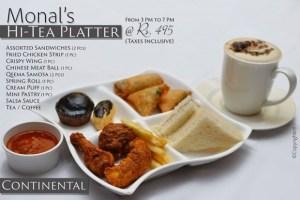 Monal Continental HiTea Platter