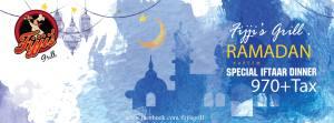 Fijji's Grill Islamabad Iftar Deal 2016