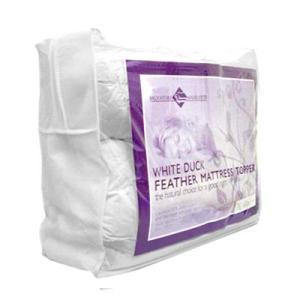 King Single Mattress Topper - 100% Duck Feather