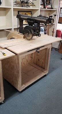 Craftsman 10 Radial Arm Saw Table | WoodWorking
