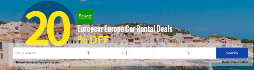 easyrentcars 20% off coupon