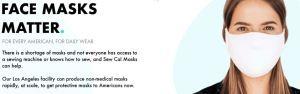 sewcal facemask coupons