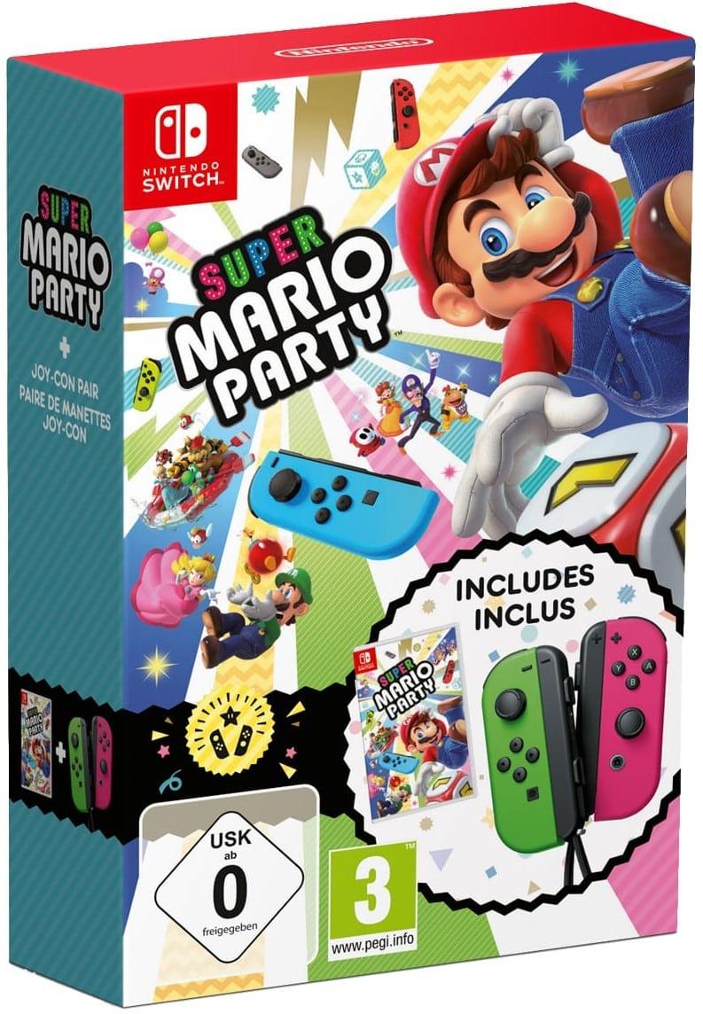 Bon Plan Pack Super Mario Party Joycons Pas Cher Sur Nintendo Switch