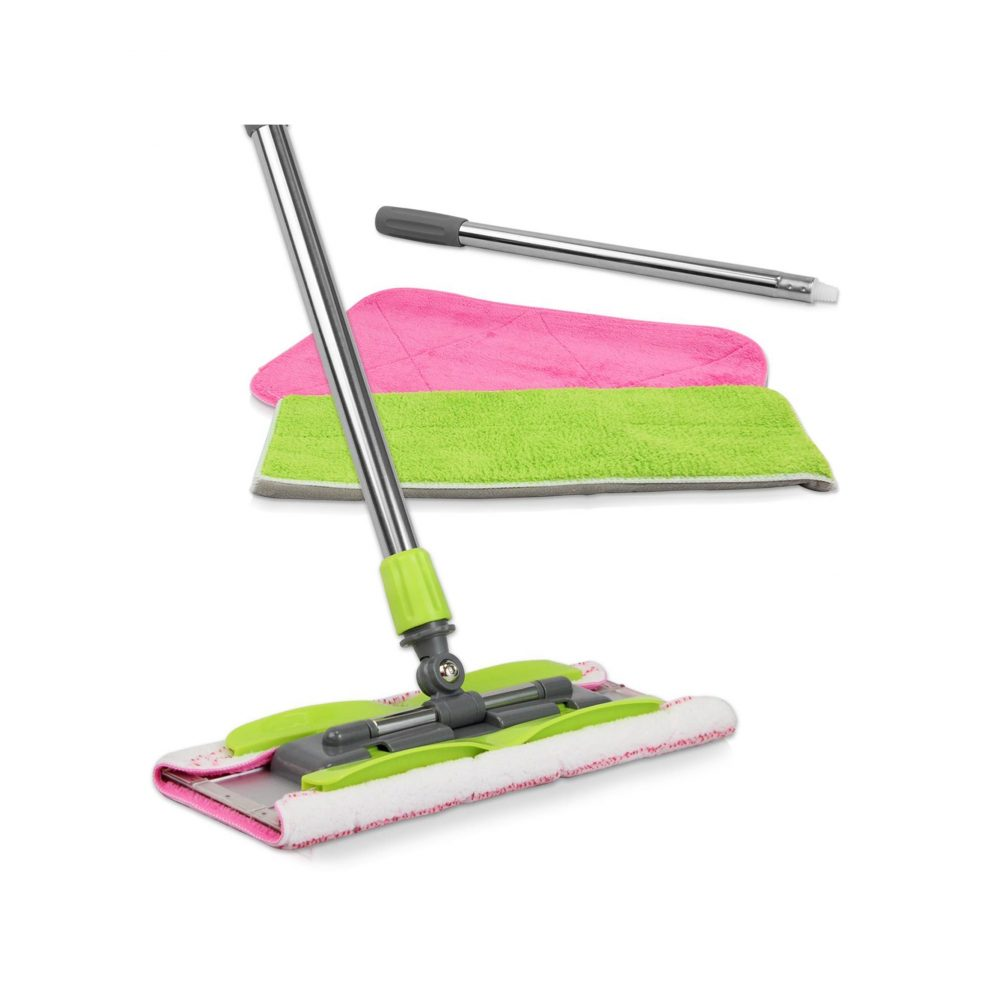 Linkyo Microfiber Floor Mop with 3 Reusable Mop Pads