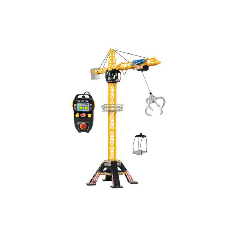 Dickie Toys Mega Crane with Remote Control