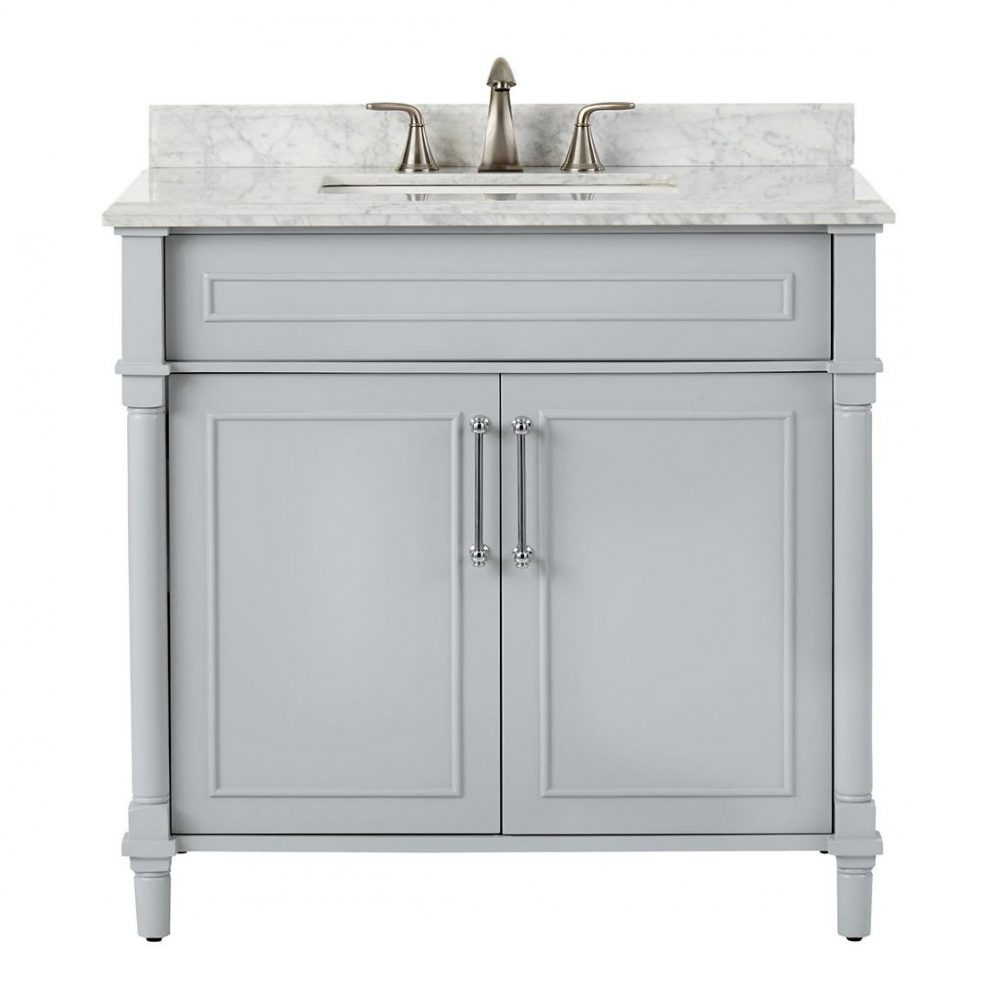 Home Decorators Collection Aberdeen Single Vanity