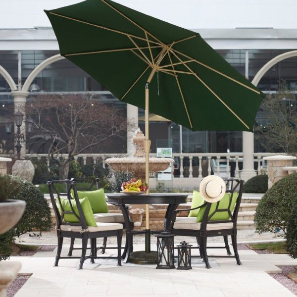 Balichun 9 Foot Patio Umbrella With Push Button Outdoor
