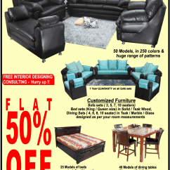Sofa Sets At Low Price In Hyderabad Best Modern Bed Uk Special Monsoon Offer On Home Furniture Woods Dealshut The Dress Your Homes Presents Of Flat 50 Off Free Interior Designing Consulting Hurry Up Set