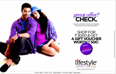 Shop for Rs.3000/- and Get a Gift Voucher worth Rs.500 ...