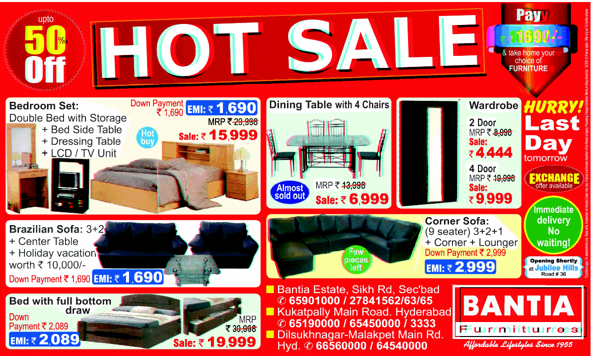 Home furniture online shopping hyderabad
