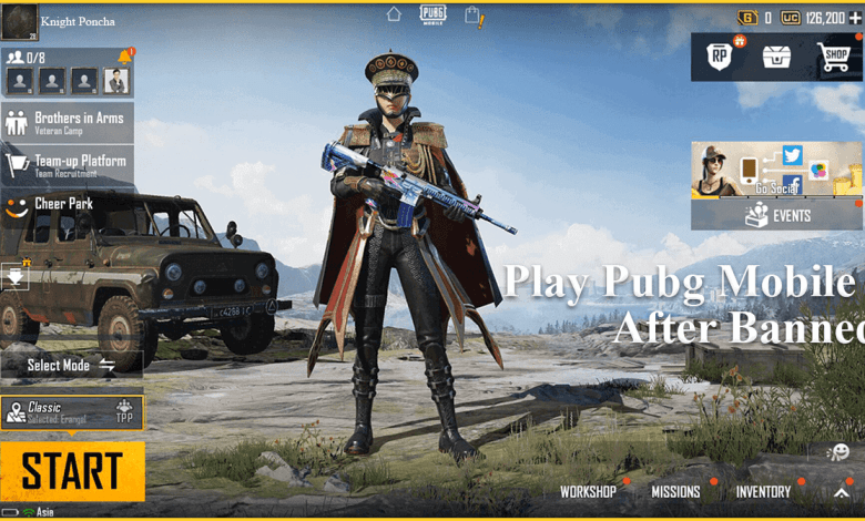 Play Pubg Mobile after banned, play Pubg Mobile after Server banned through ISP