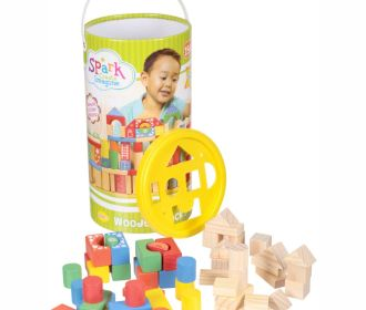 Buy 150-Pc Wooden Block Set for $9.84 (was $20.00)