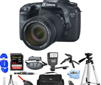 Buy Canon EOS 7D Digital SLR Camera W/ EF-S 18-135mm IS Lens Kit Pro for $1189.99 (Was $1549.00)
