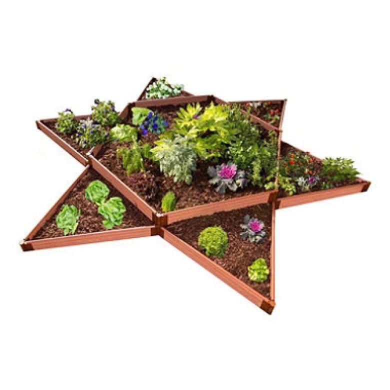 Classic Sienna Raised Garden Bed Garden Star 12' x 12' x 11