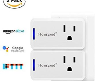 Buy Mini WiFi Wireless Smart Plug Socket Outlet (2 Pack) for $19.75