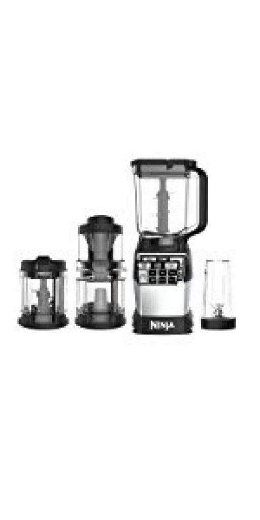 Amazon.com: Ninja 4-in-1 Kitchen System, Blending, Processing & Spiralizing (AMZ012BL): Kitchen & Dining