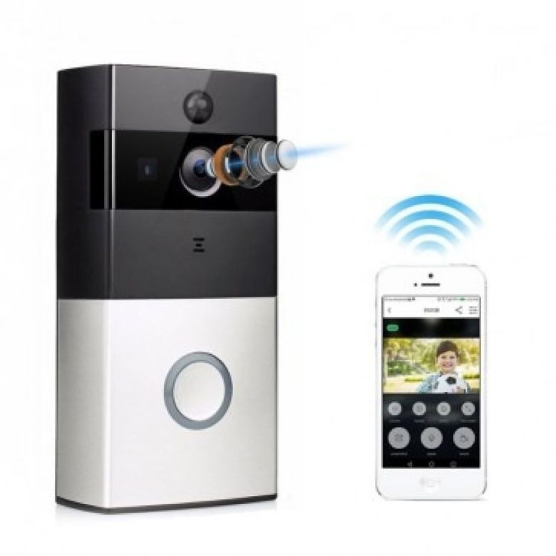iTD Gear WiFi Smart Home Video Doorbell Security Camera w/Two Way Audio | iTechDeals.com