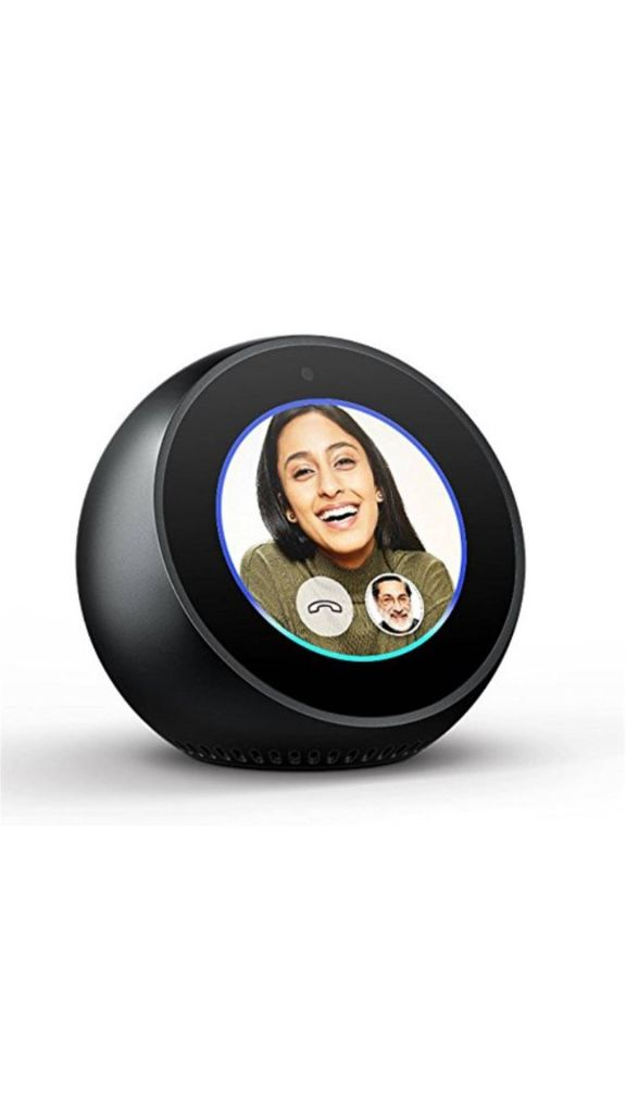 Buy Amazon Echo Spot (Black) Online at Low Prices in India - Paytmmall.com