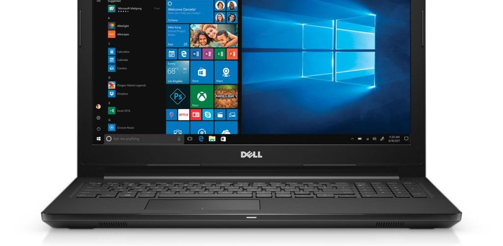Buy Dell Inspiron 15 3000 Series 15.6″ HD Touchscreen Laptop with AMD Core A6-9200 / 4GB / 1TB / Win 10 (Black) for $259
