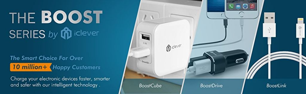 Buy iClever BoostCube to Charge Two Gadgets At Once for $6