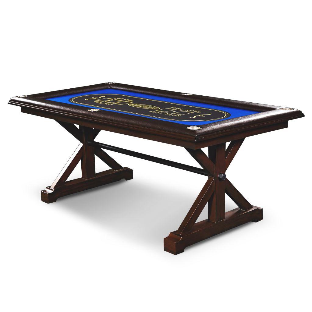 Barrington Premium Solid Wood Poker Table - Walmart.com