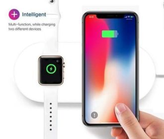 iPhone and Apple watch Wireless Charging Pad for $35